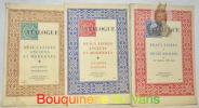 Beaux livres et belles reliures du XVe siècle au XIXe siècle. Catalogue N.° 12. Beaux livres anciens et modernes. Estampes modernes. Catalogue N.°13. ...