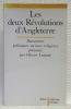 Les deux Révolutions d'Angleterre. Documents politiques, sociaux, religieux présentés par Olivier Lutaud. Collection bilingue.. LUTAUD, Olivier.