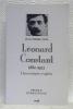 """LEONARD CONSTANT. 1880 - 1923. Universitaire et apôtre. Préface d'Emile Poulat. Collection: """"Histoire"""".. INDA, Jean-Pierre."""