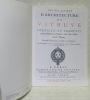 Les dix livres d'architecture de Vitruve, corrigez et traduits nouvellement en François, avec des Notes & des Figures. Seconde Edition reveuë, ...