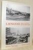 """Lausanne passé et présent sous le même angle. Texte: Louis Polla. Photographies: iocolas Crispini et Robert Hofer. Collection """"passé et présent"""".. ..."""