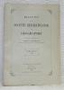Bulletin de la société Neuchâteloise de Géographie. Publié sous la direction de Charles Biermann. Tome XXXVII. 1928.L'ouest canadien, esquisse ...