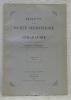 Bulletin de la société Neuchâteloise de Géographie. Publié sous la direction de Charles Biermann. Tome XLI. 1932.L'habitat rural en Suisse. Avec une ...