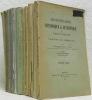 Dictionnaire historique et statistique des paroisses catholiques du Canton de Fribourg. 12 tomes complets.. DELLION, Père Apollinaire.