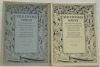 STULTIFERA NAVIS. Mitteilungsblatt der Schweizerischen Bibliophilengesellschaft 8. Jahrgang N° 1/2 und 3/4. Bulletin de la Société suisse des ...