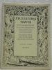 STULTIFERA NAVIS. Mitteilungsblatt der Schweizerischen Bibliophilengesellschaft 13. Jahrgang 3/4. Bulletin de la Société suisse des Bibliophiles. 13me ...