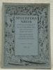 STULTIFERA NAVIS. Mitteilungsblatt der Schweizerischen Bibliophilengesellschaft 14. Jahrgang 1/2. Bulletin de la Société suisse des Bibliophiles. 14me ...