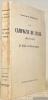 La Campagne de l'Irak. 1914 - 1918. Le Siège de Kut-el-Amara. Avec, hors texte, en deux couleurs, 28 croquis et une carte générale.. MOUKBIL BEY, ...