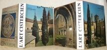 L'Art Cistercien - France. Deuxième édition. L'Art Cistercien hors de France. 2 Volumes. Traduction allemande d'Hilaire de Vos. Traduction anglaise de ...