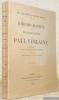 Bibliographie et iconographie de Paul Verlaine publiées d'après des documents inédits.. BEVER, Ad. van. - MONDA, Maurice.