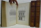 Eléments et théorie de l'architecture. Cours professé à l'école nationale et spéciale des beaux-arts. Tome I. Tome II: ouvrage honoré d'une ...