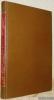 Bibligraphie der Österreichischen Drucke des XV. und XVI. Jahrhunderts, Hrsg. von Dr. Eduard Lander. I. Band, 1. Heft. Trient - Wien - Schrattenthal, ...