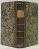 Almanach génevois, pour l'année 1826 et 1827 reliées ensemble..