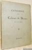 Catalogue du Cabinet de Dessins du XVIIIe Siècle de M. Georges Bourgarel. Vente à Paris Hôtel Drouot..