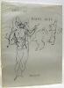 Dessins de Raoul Dufy. Préface de Jean Tardieu. Biographie du Dr. A. Roudinesco..