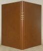 Notions de dorure mosaique sur cuir. Suivies d'un aperçu sur la dorure sur tranche. 3e édition, revue, corrigée.. PAGNIER, Charles.