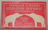Paris 1931. Promenade à travers l'Exposition Coloniale Internationale. 24 cartes détachable..