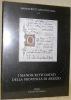 I manoscritti datati della Provincia di Arezzo.Manoscritti datati d'Italia 15.. Stoppacci, Patrizia. - Parigi, Maria Cristina.