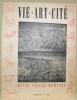 Vie Art Cité  Revue Suisse Romande. Numéro 3, 1944..