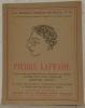 Pierre Laprade. trente trois reproductions de peintures et dessins précédées d'un étude critique par Edmond Jaloux de notices biographiques et ...