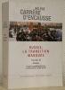 Russie, la transition manquée. Nicolas II, Lénine, unité prolétarienne et diversité nationale.Les indispensables de l'histoire.. CARRERE D'ENCAUSSE, ...
