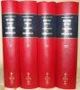 Histoire générale et particulière de Bourgogne. Introduction de Jean Richard. 4 Volumes complets.. PLANCHER, Dom Urbain.