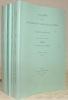 Académie des Inscriptions & Belles-Lettres. Compte rendus des séances de l'année 2000. Publication trimestrielle. Fascicule I - II - III et IV. Année ...