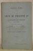 La cour de Philippe IV et la décadence de l'Espagne, 1621 - 1665. Ouvrage traduit de l'anglais par J. Condamin & P. Bonnet. Seule traduction française ...