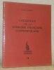 Catalogue de la noblesse française contemporaine. Les Cahiers Nobles, n.° 18.. VALETTE, Regis.