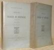 Règne de Charles III d'Espagne (1759-1788). 2 Volumes. Avec une carte.. ROUSSEAU, François.