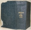 Almanach de Gotha annuaire diplomatique et statistique pour l'année 1864. Cent et unième année..