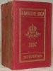Almanach de Gotha annuaire diplomatique et statistique pour l'année 1897. Cent-trente-qiatrième année..