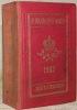 Almanach de Gotha annuaire diplomatique et statistique pour l'année 1902. Cent-trente -neuvième année..