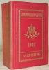 Almanach de Gotha annuaire diplomatique et statistique pour l'année 1906. Cent-quarante-troième année..