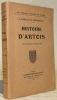 Histoire d'Artois. Collection Les Vieilles Provinces de France.. Mabille de Poncheville, A.