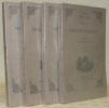 Histoire de Philippe-Auguste. 4 volumes complets. Collection Trésor historique et littéraire.. CAPEFIGUE, M.