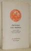 Anciennes voix malades. Pantouns malais présentés et traduits par François-René Daillie, illustrés par Anne-Marie Soulcié.Coll. : Les immémoriaux..