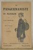 La pangermaniste en Alsace. Avec 16 dessins par Hansi.. FROELICH, Jules.