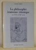La philosophie iranienne islamique aux XVIIe et XVIIIe siécles.. CORBIN, Henry