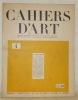 Cahiers d'Art, n.° 4, quatrième année, 1929. Revue d'art paraissant dix fois par an. Peinture - sculpture - architecture - musique - misen en scène. ...
