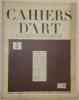 Cahiers d'Art, n.° 5, 5e année, 1930. Revue d'art paraissant dix fois par an. Peinture, sculpture, architecture, art ancien, ethnographie, cinéma.De ...