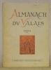 Almanach du Valais 1972, 72e année..