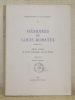 Mémoires de Louis Ribatel, 1788 - 1877, officier valaisan au service d'Espagne, puis de France. Bibliotheca Vallesiana, n.° 3.. DONNET, André.