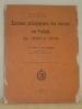 Examens pédagogiques des recrues en Valais de 1886 à 1906. Extrait du Journal de statistique suisse, quarante-troisième, 1907.. COCATRIX, chanoine X. ...