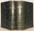 Dictionnaire général de police administrative et judiciaire publié par le Journal des commissaires de police. Premier volume, A - E. Deuxième volume, ...