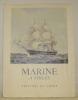Marine à voiles. Introduction de Olivier Warner.. WARNER, Olivier.