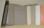 Numismatique Fribourg. Ensemble de 8 brochures: 1. Catalogues des monnaies suisses, I, Fribourg, 31 pages, VIII planches. 2. Les monnaies romaines en ...