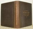 Mittheilungen aus Justus Perthes' Geographischer Anstalt über wichtige neue erforschungen auf dem Gesammtgebiete der Geographie. 1858.. PETERMANN, A.