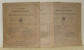 Dr. A. Petermanns Mitteilungen aus Justus Perthes' Geographischer Anstalt. 44. Band, 1898. Inhalt I bis XII. Inhalt VIII fehlt.. SUPAN, Prof. Dr. A.