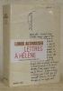Lettres à Hélène. Préface de Bernard-Henry Lévy.. ALTHUSSER, Louis.